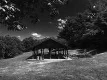 Park in Pittsburgh im Sommer Lizenzfreies Stockfoto