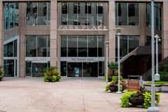 Park Place, Burrard Street, Vancouver, BC. Royalty Free Stock Image