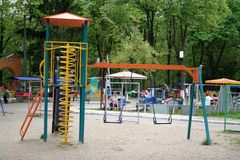 PARK PLAY SET Royalty Free Stock Images
