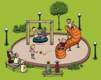 Park Playground Stock Photos