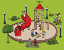 Park Playground Royalty Free Stock Image