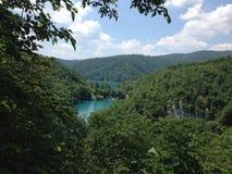 Park Plitvice Kroatië Stock Afbeeldingen