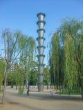 Park Poblenou Barcelona Stockfotos