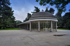 Park in Podebrady Stock Afbeeldingen