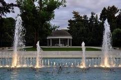 Park in Podebrady Royalty-vrije Stock Fotografie