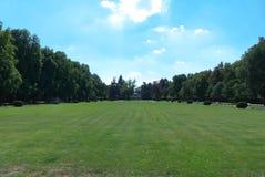 Park. In Podebrady in Central Bohemia Stock Photos