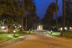 Park in Pontevedra (pain) Royalty Free Stock Photography