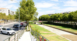 Park of the population Cambrils Royalty Free Stock Photos