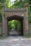 Park portal Stock Images