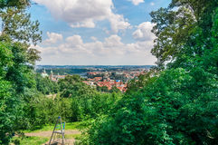 Park in Prague Royalty Free Stock Photography
