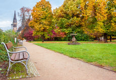 Park in Prague Royalty Free Stock Image