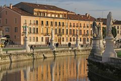 Park of Prato della Valle Padova Royalty Free Stock Photo