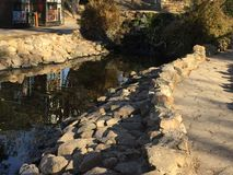 Park prilep Mazedonien stockbilder