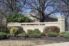 Park Professioneel Plein, Memphis, TN royalty-vrije stock foto's