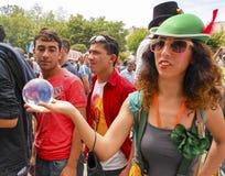 Park-Proteste und Ereignisse Taksim Gezi Lizenzfreie Stockfotos