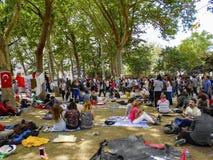 Park-Proteste und Ereignisse Taksim Gezi Stockbilder