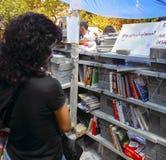 Park-Proteste und Ereignisse Taksim Gezi Plünderer-Bibliothek von protes Lizenzfreies Stockbild