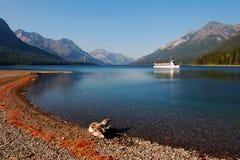 park prowincjonalne waterton jeziora. obrazy royalty free
