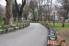 Park-Quadrat Lizenzfreies Stockbild