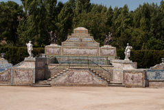 The park in Queluz Stock Images
