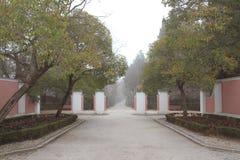 Park Quinta-Des los Molinos Madrid, Spanien stockfotografie