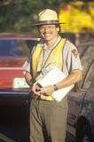 A park ranger, Stock Photography