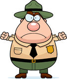 Park Ranger Angry Royalty Free Stock Image
