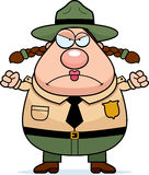 Park Ranger Angry Stock Photo