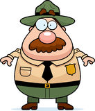 Park Ranger Cartoon Royalty Free Stock Photo
