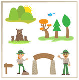 Park Rangers Stock Photography