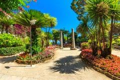 Park in Ravello Stock Image