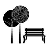 Park related icons image Stock Photos