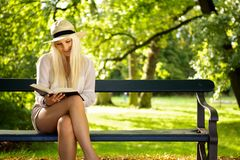 Park relaxation Royalty Free Stock Photo