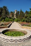 Park at Rhodos island. Greece Royalty Free Stock Photos