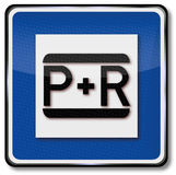 Park and ride Stock Photography