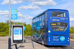 Park&ride Royalty Free Stock Photography