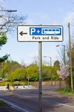 Park and ride Stock Image