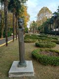 Park Riviera. The entrance to the Park & x22;Riviera& x22; in Sochi & x28;Russia& x29 Royalty Free Stock Photography