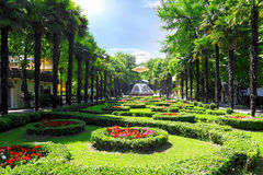 Park Riviera in Sochi city Stock Images