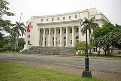 The national museum of anthropology, Manila. Within Park Rizal in the Philippines is the national museum of anthropology Royalty Free Stock Photos