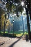 Park in Rome Stock Image