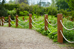 Free Park Rope Fence Stock Photos - 70174203