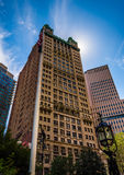 The Park Row Building, in Lower Manhattan, New York. Stock Image