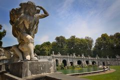 Park - Royal Palace - Caserta Royalty Free Stock Images
