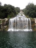 The park of the royal palace of Caserta Royalty Free Stock Photo