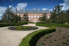 Park in Royal Palace von Aranjuez Stockbilder