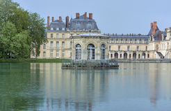 Park and royal residence in Fontainebleau Stock Photography