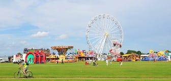 Park rozrywki Zdjęcia Royalty Free