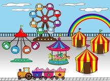 Park rozrywki Zdjęcie Royalty Free