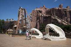 Park rozrywki, nowożytna architektura Zdjęcie Stock